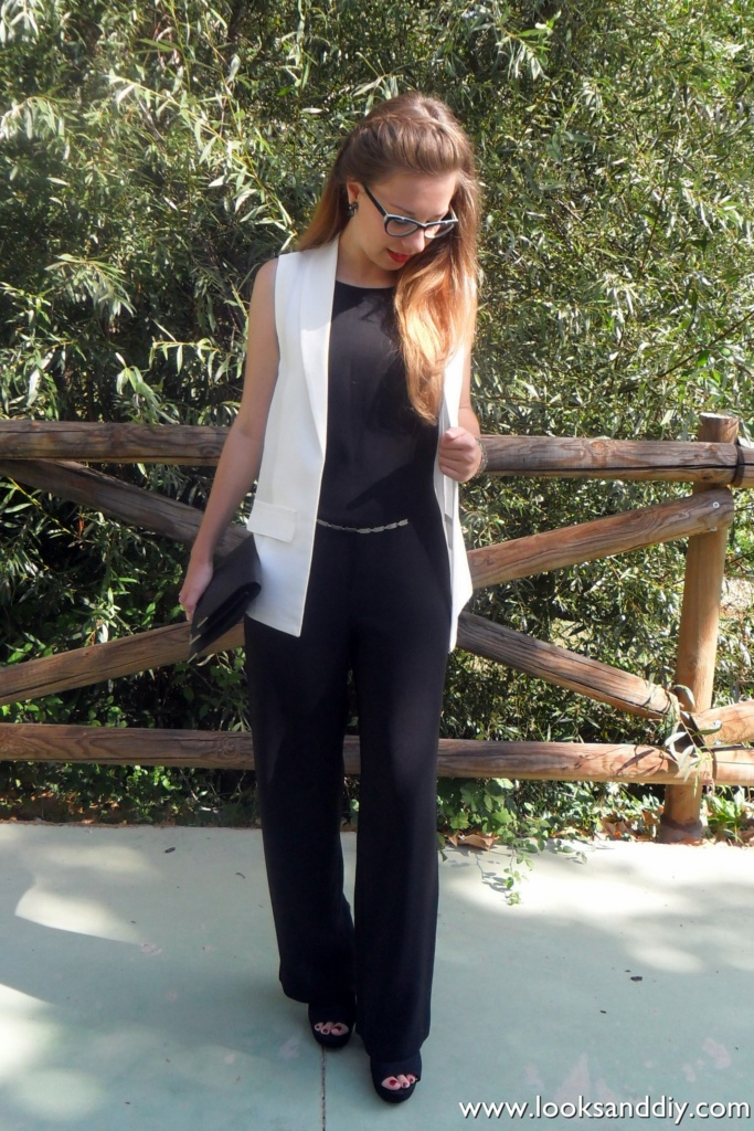 Outfit black and white 1