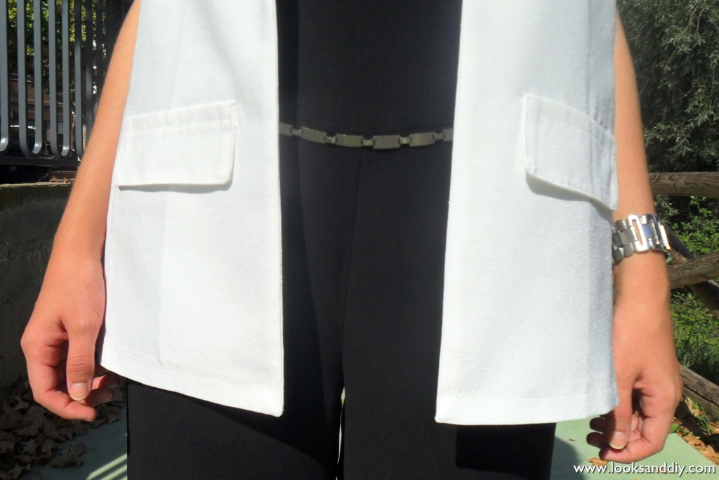 Outfit black and white 5 DETALLES