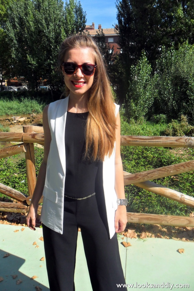 Outfit black and white 6