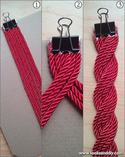 cordón de seda