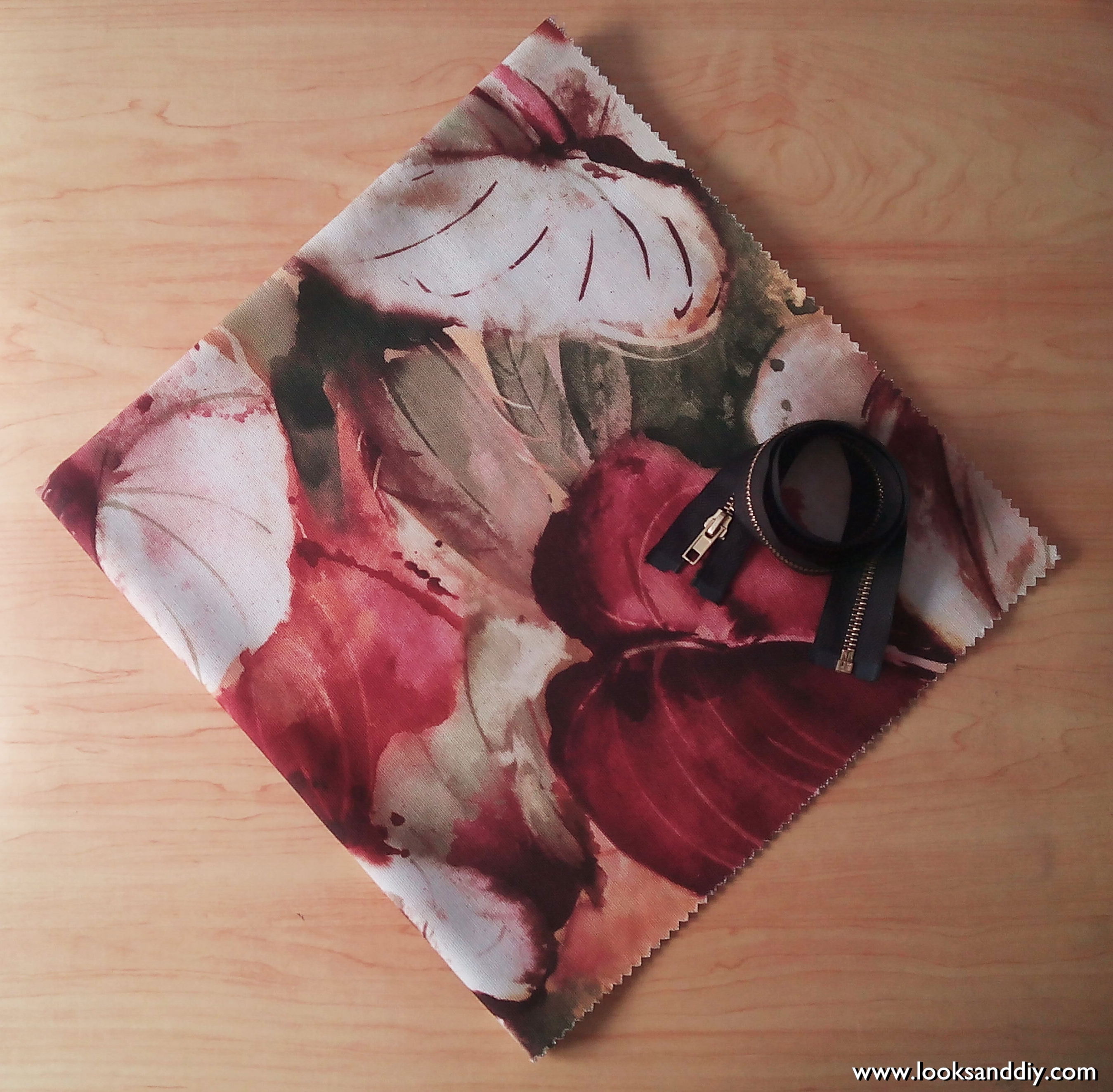 materiales bolso diy clutch bag