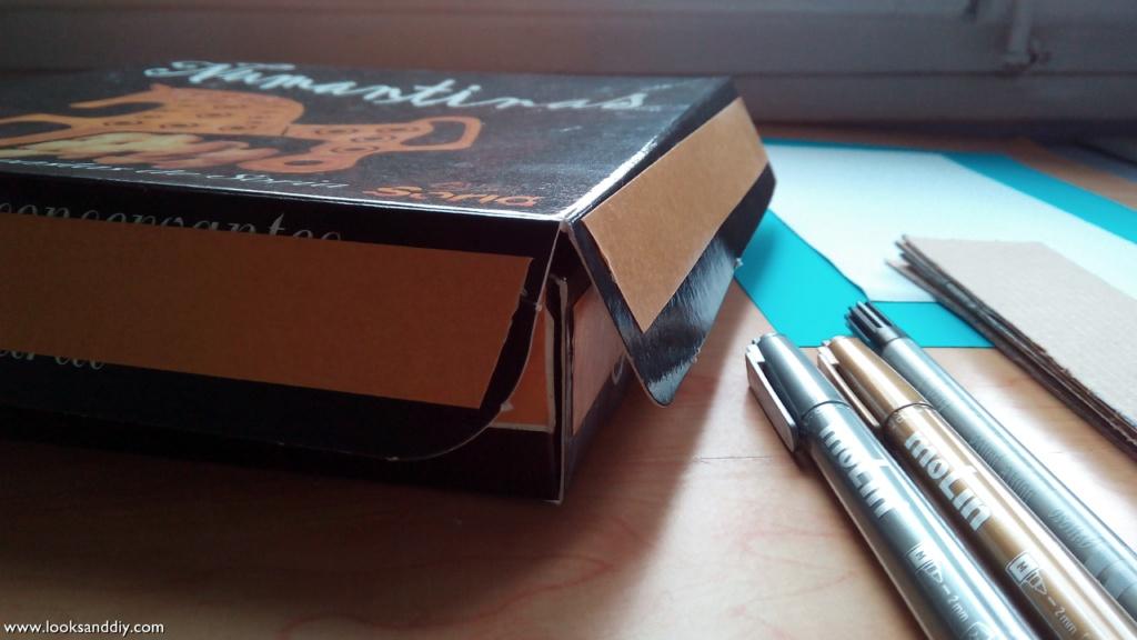 2 caja para te DIY
