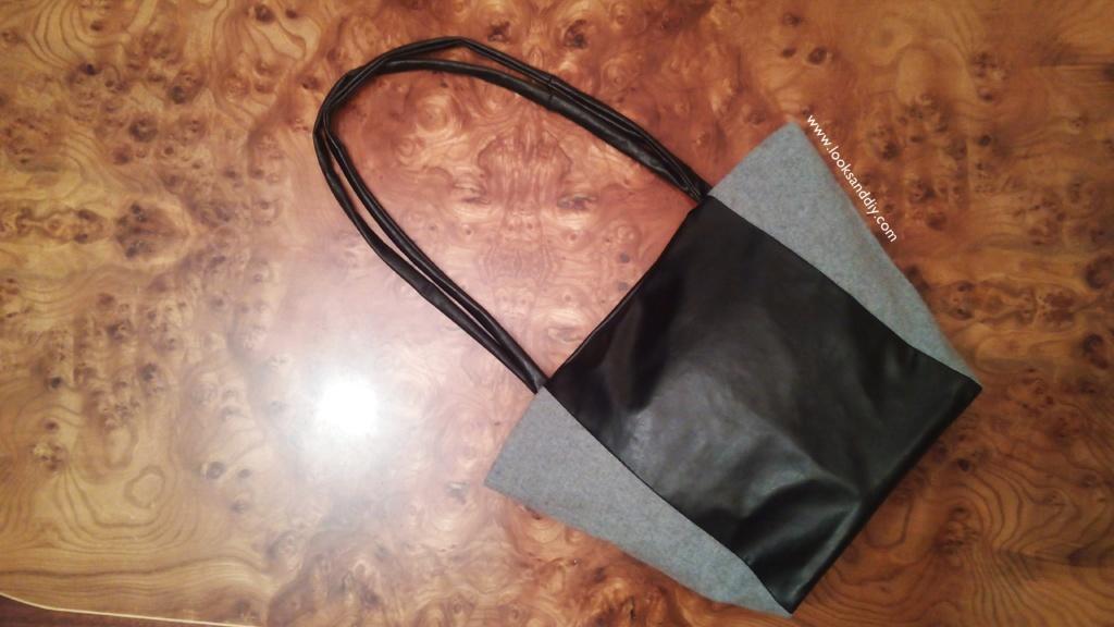 12 bolso, tote bag DIY