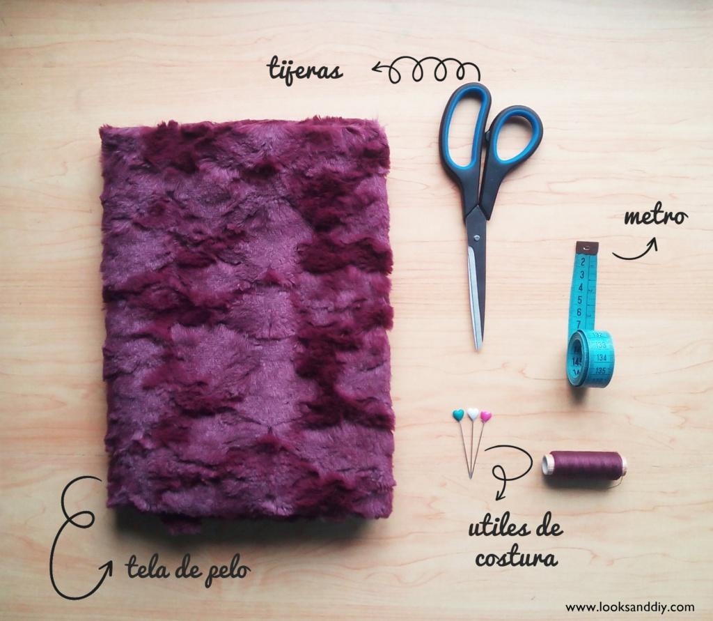 0 materiales cuello de pelo