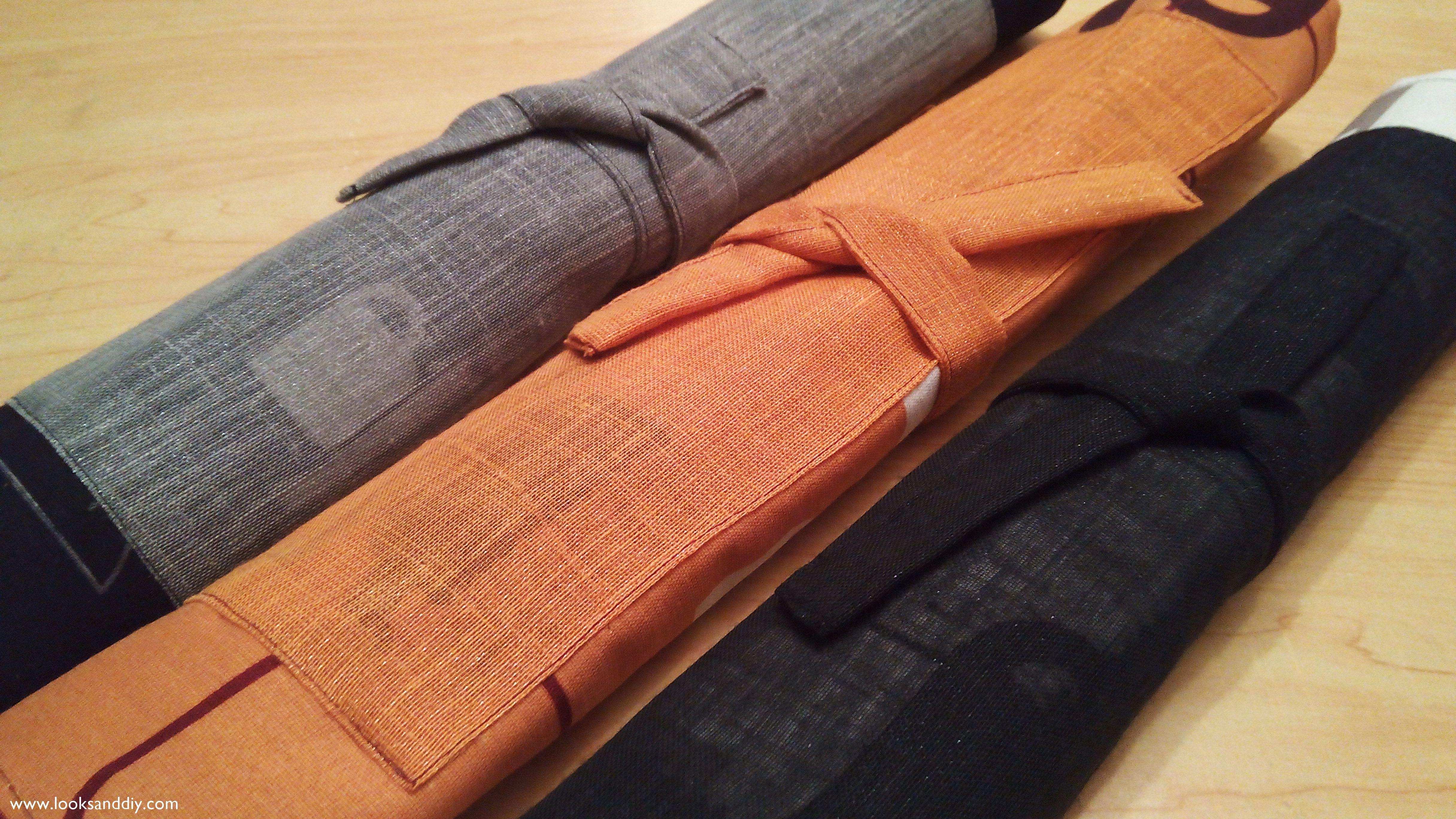 Diy c mo hacer manteles individuales de tela looks and diy - Como hacer un cabecero de tela ...