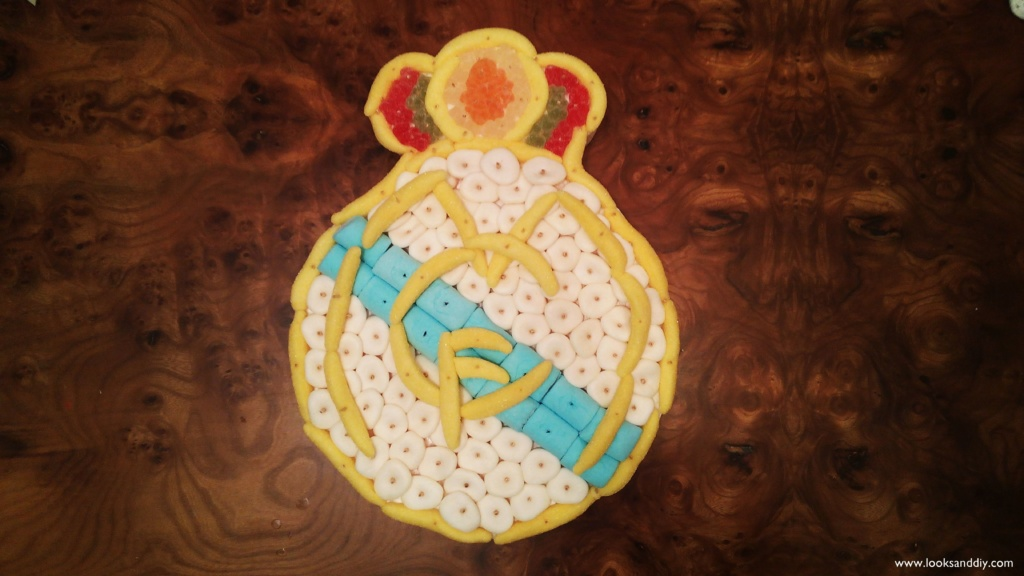 3 tarta de gominolas escudo real madrid