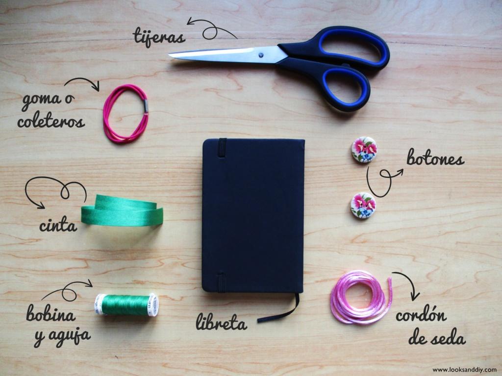 0 materiales DIY marca páginas - cierra libros
