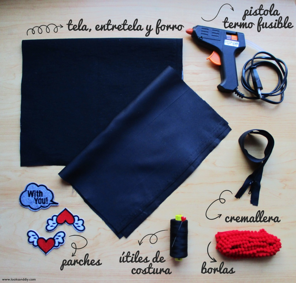 2 DIY Clutch con parches