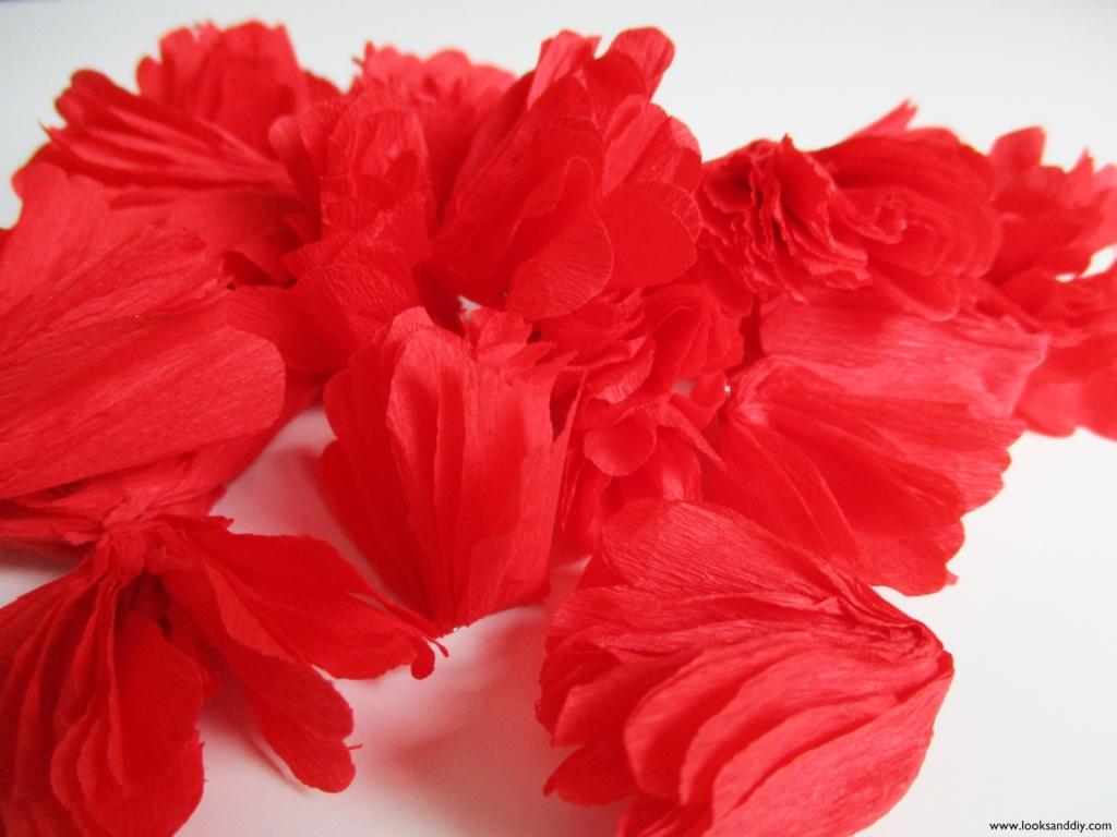 4 DIY topiario con flores de papel-min