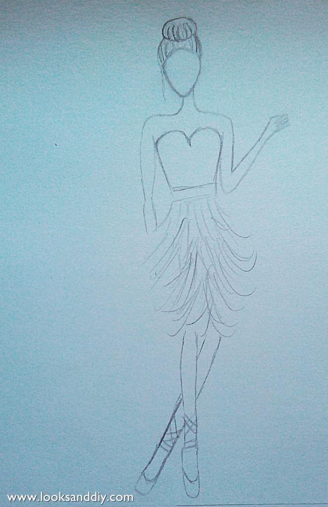 figurin bailarina
