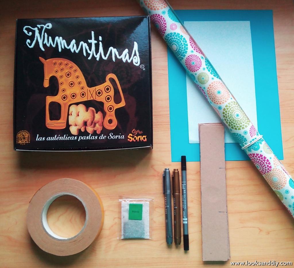 1 materiales caja para te DIY