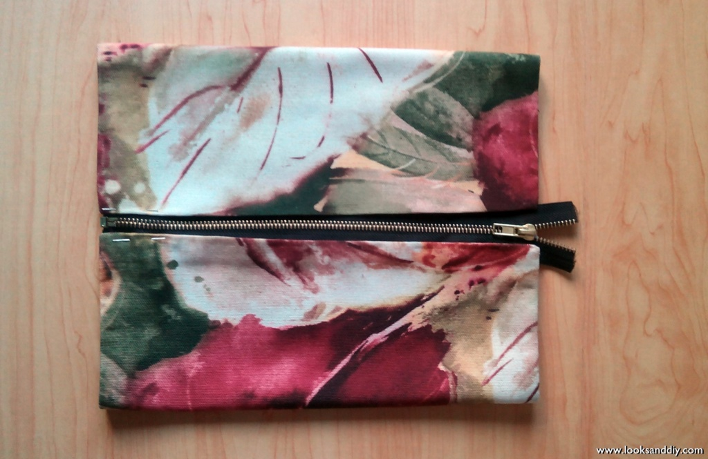 bolso diy clutch bag looksanddiy