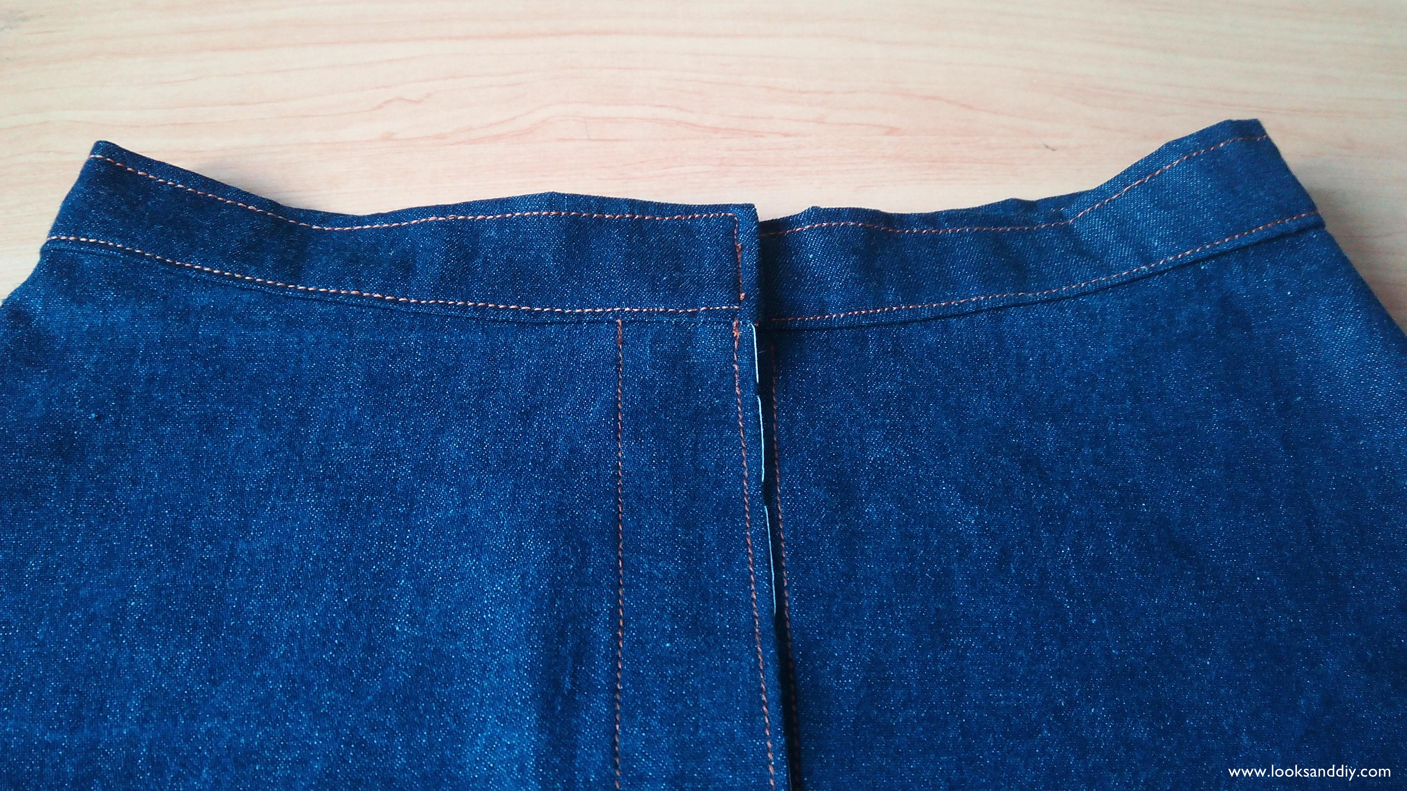 bd7e798ca8 5 falda vaquera con botones