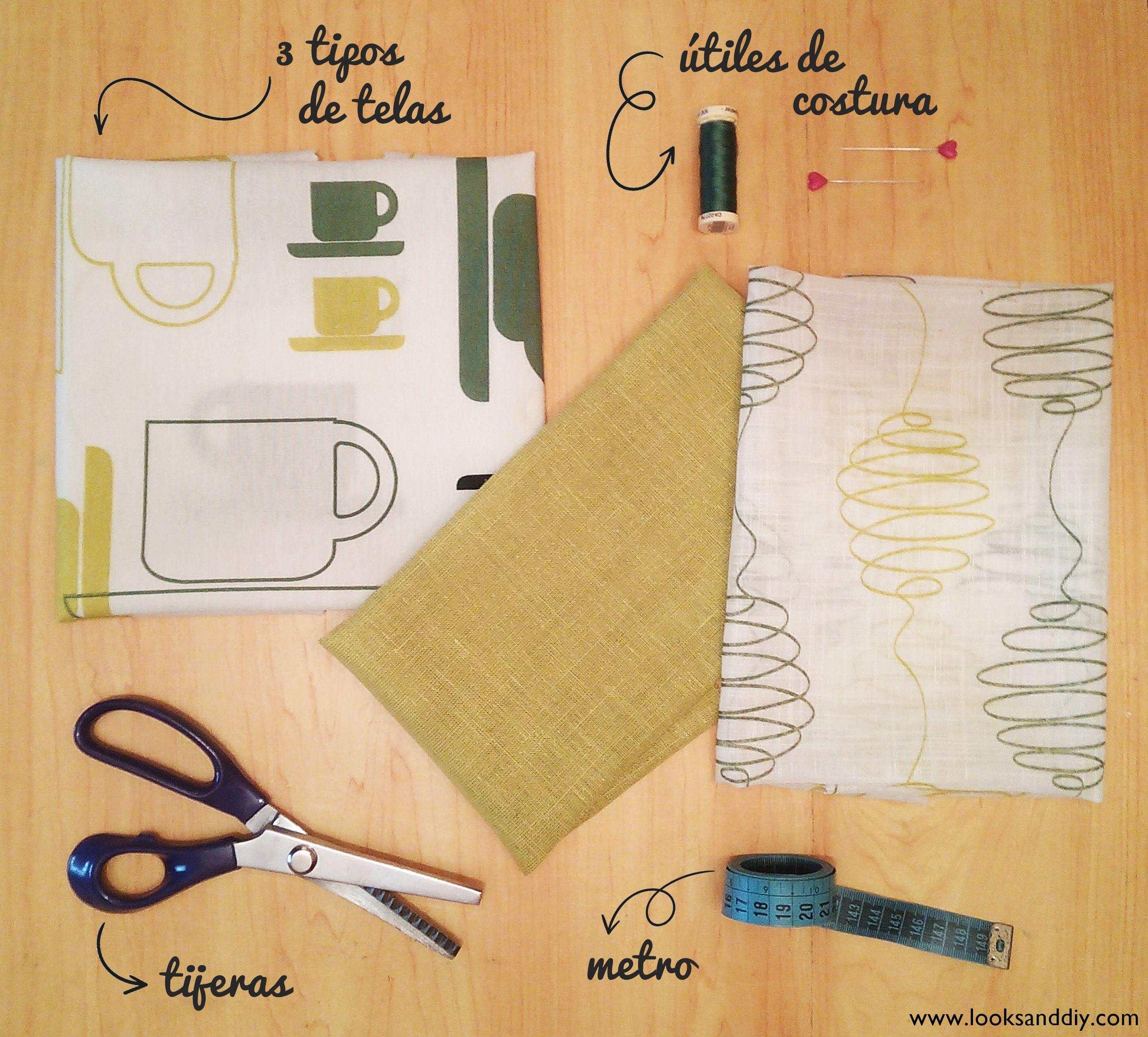 0 materiales como hacer un mantel individual de tela