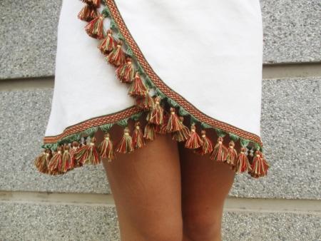 diy falda asimétrica