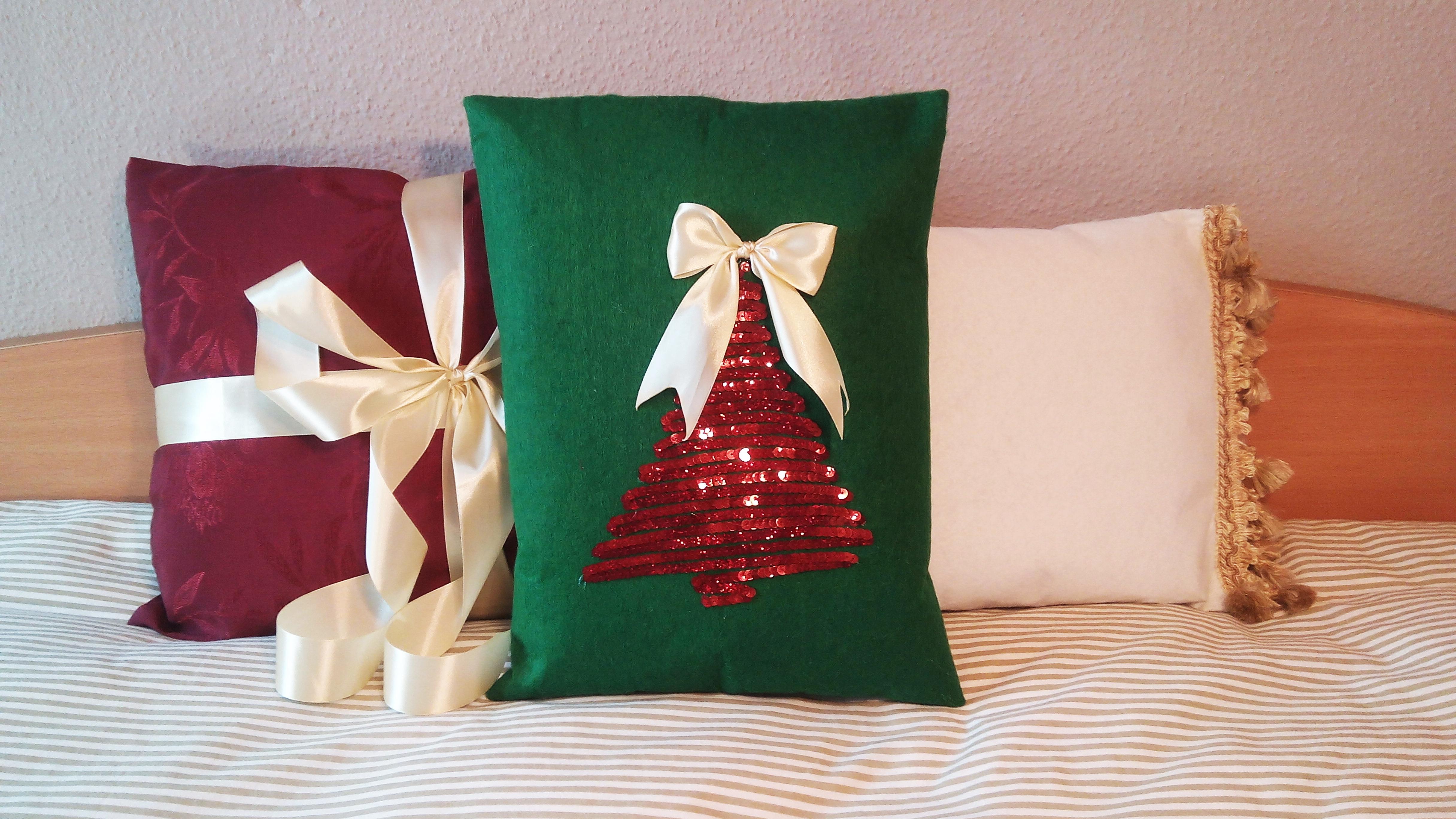 Diy Cojines.Diy Cojines Faciles Paso A Paso Especial Navidad