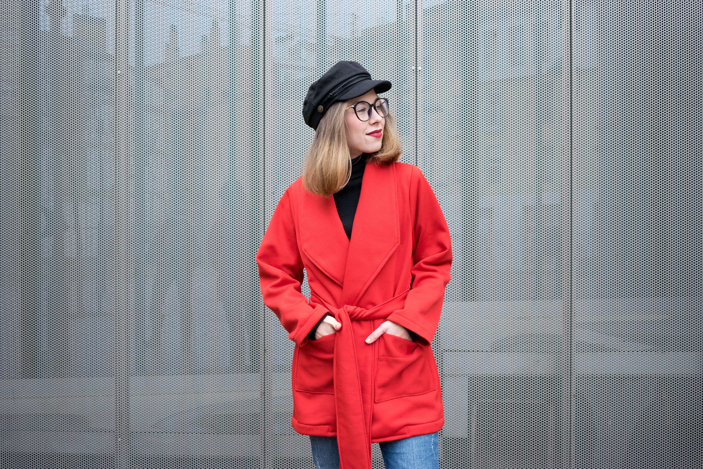 2d6b4be05582b DIY~ Cómo hacer un abrigo o chaqueta de mujer. Patrón BURDA EASY.