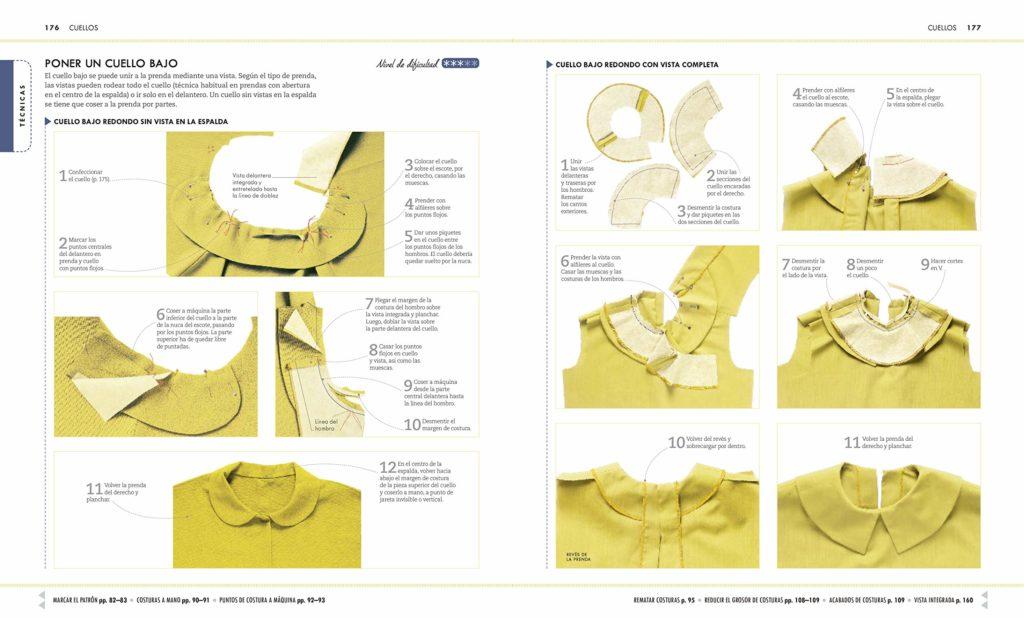 El libro de costura más completo de 2019. Manual completo de costura con herramientas, técnicas y proyectos.