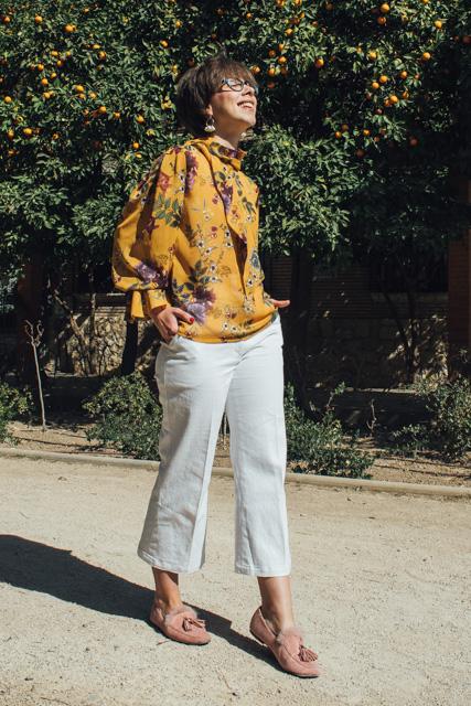 curso de costura online básico - camisa vintage