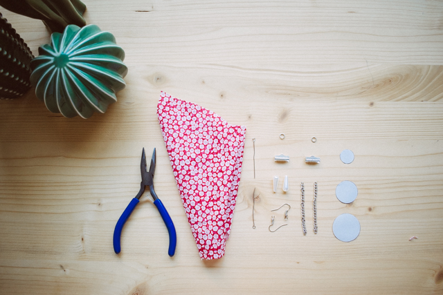 3 Pendientes de tela ¡fáciles y rápidos de hacer!